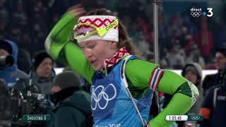 JO 2018 : Biathlon - Relais Femmes : Revivez la médaille de bronze des Bleues en long format
