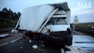 Tödlicher Unfall auf der A12