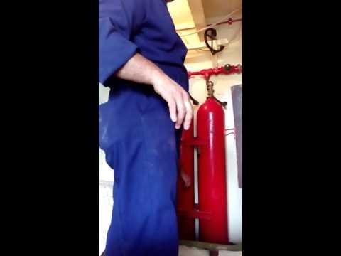 Co2 inspection & testing main valve