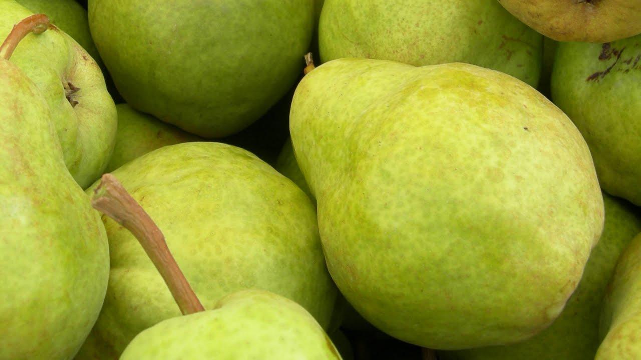 Vitamins in pears
