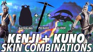 """KUNO & KENJI "" SKIN BEST BACKBLING + SKIN COMBOS! (Season 8) (Fortnite) (2019)"