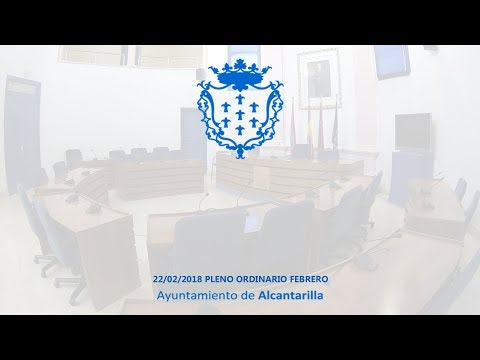 22/02/2018 Pleno Ordinario Febrero
