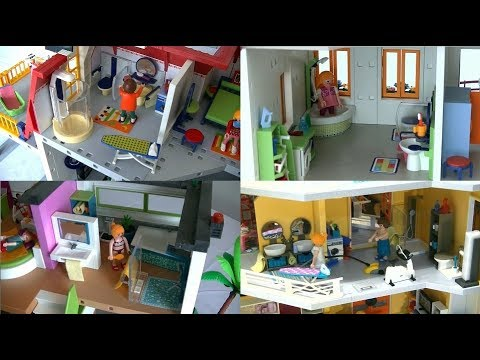 evolution playmobil fr la salle de bain moderne 2000 2017