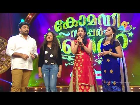 Comedy Super Nite - 2 with Sreekala, Niranjen & Parvathy │Flowers│CSN# 164
