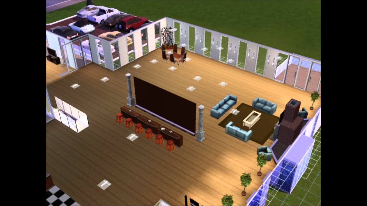 Sims 3 most epic house ever youtube for Epic house music