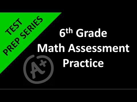 6th Grade Math Assessment Practice Day 1 - YouTube