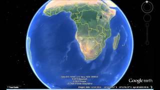 eSwatini(Swaziland) Google Earth View