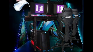 $Guy Spills WATER on Expensive FORTNITE Gaming Setup!!!$ #prankwars 5