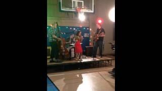 Christina De Rosa sings