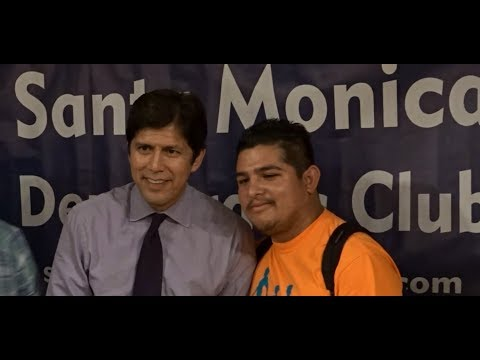 KEVIN DE LEON WANTS TO BE THE PRESIDENT OF THE UNITED STATES OF ILLEGAL ALIENS. WE MUST STOP HIM NOW