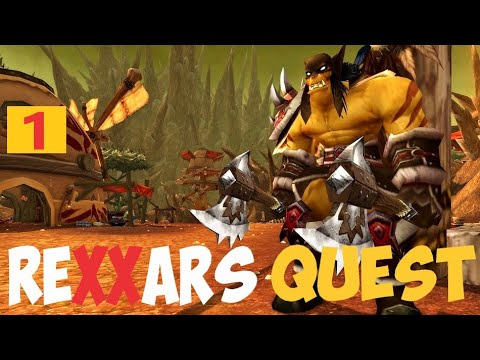 WarCraft 3: Rexxar's Quest RTS-RPG - Part 1 HD Remastered