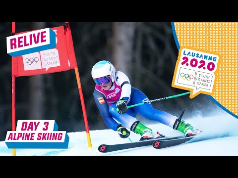 RELIVE - Alpine Skiing - Giant Slalom - Day 3 | Lausanne 2020