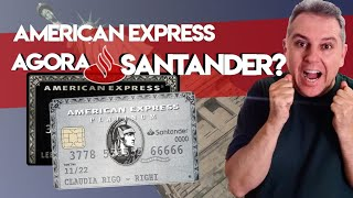 ????Santander American Express| Santander Brasil irá emitir novos cartões American Express. Será????
