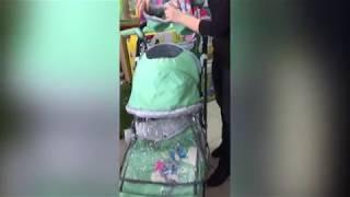 Видео обзор. Санки коляска Ника Детям 7-4 НОВИНКА 2017