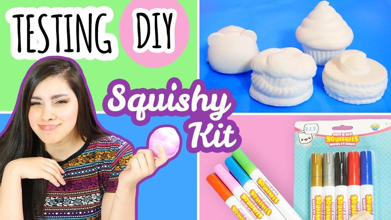 *honest* squishy kit review  soft n slo diy squishies
