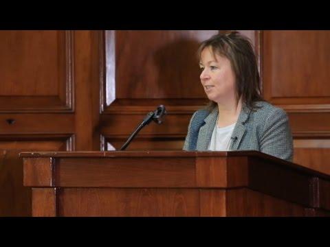 Jacinta Murphy of Féileacáin, Stillbirth & Neonatal Death Association, at the Perinatal Conference