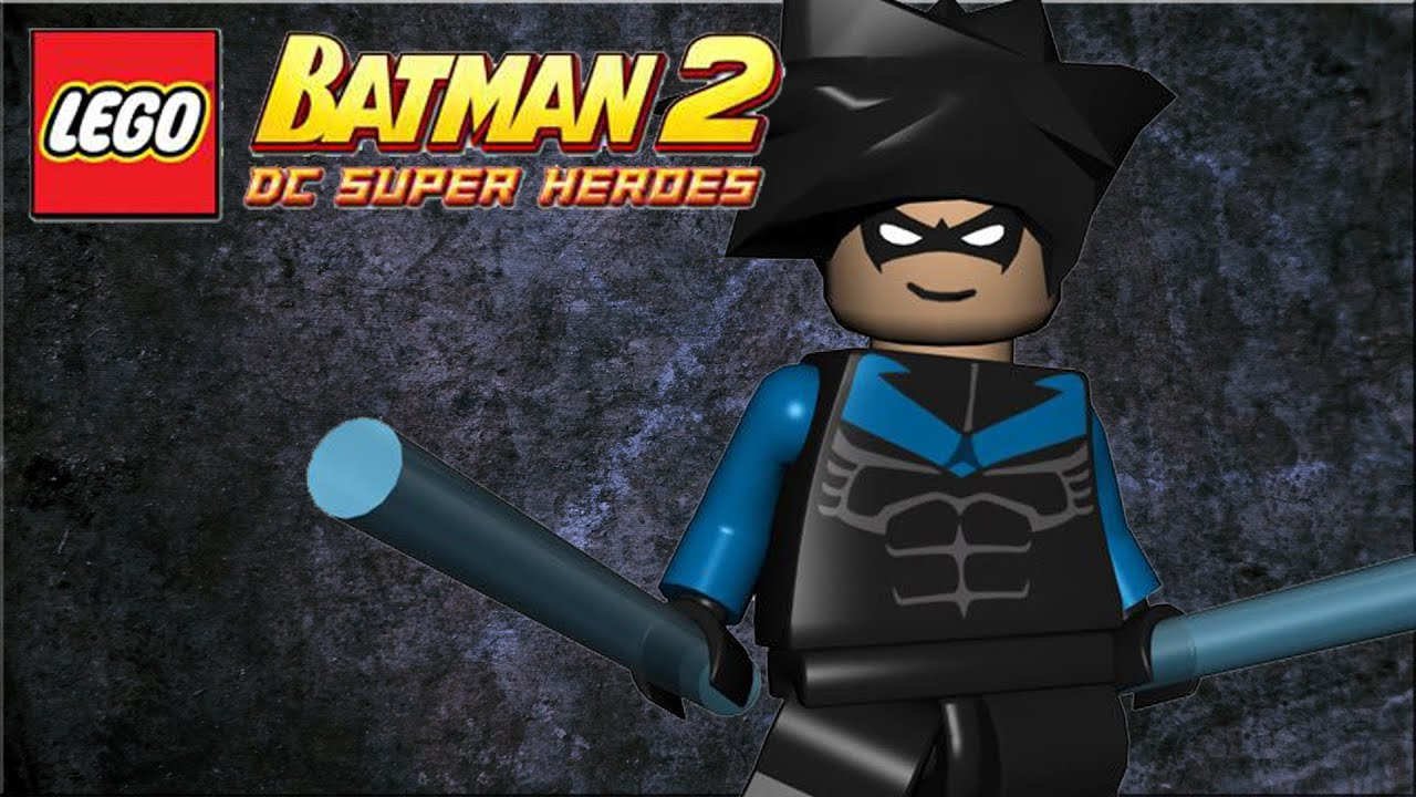LEGO Batman 2 : DC Superheroes DLC HERO PACK - Nightwing ...