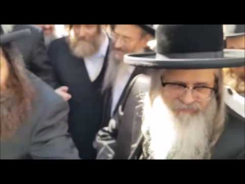 The Satmar Rebbe Of Williamsburg Arriving In France