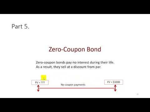 Valuation Of Zero-Coupon Bonds