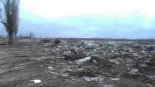 Свалка. Цюрупинск(Свалка мусора. На мусорке полный порядок. Херсонская область, Цюрупинский район., 2014-03-05T06:21:13.000Z)
