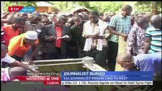 Burial ceremony for the late Philip Masha Tondo has been conducted in Kilifi