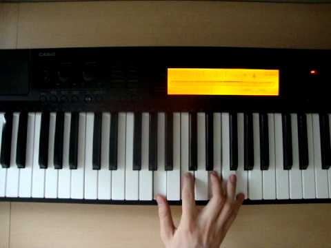 C6 Piano Chords How To Play Youtube