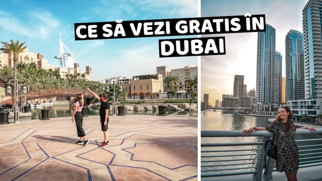 Cum sa calatoresti IEFTIN in DUBAI? - Top locuri GRATIS de vizitat (Vlog de calatorie)