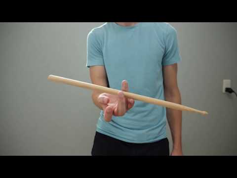 Drum Stick Twirling In Slow Motion