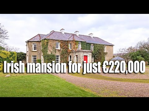 Irish mansion on sale for just €220,000 (what's the catch?)