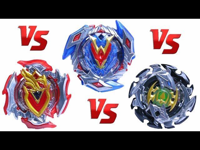 WINNING VALKYRIE vs EMPEROR FORNIUS vs Z ACHILLES | Beyblade Burst Super Z ?????????? ???