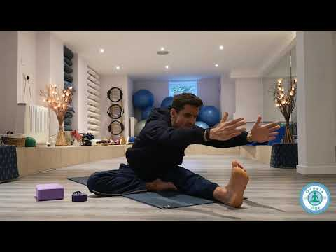 How to do Head to Knee Yoga pose, Janu Sirsasana, One legged forward bend