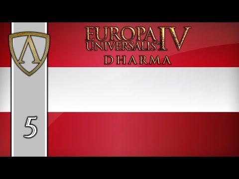 Let's Play EU4 -- 1.27 Poland Patch -- Austria -- Part 5