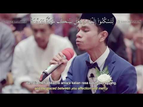 Download Lagu Subhanallah..! Saat Menikah, Muzammil Sendiri yang Membaca Al-Quran