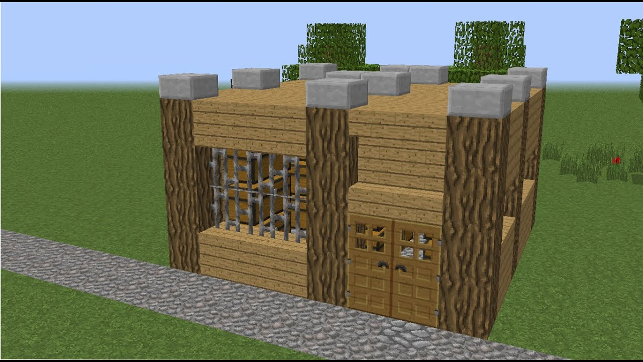 How To Build A House On Minecraft Ps