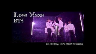 Love Maze【BTS】-Stage Mix 日本語字幕