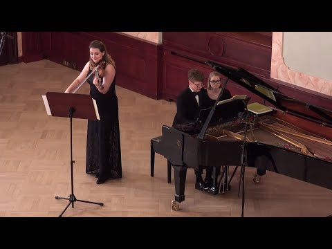 Schumann Violin Sonata Nr.1 Op.105 Elina Buksha Pavel Kolesnikov