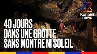 Deep Time : Enfermés 40 Jours Dans Une Grotte Sans Montre Ni Soleil L Speech L Konbini