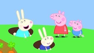 Peppa Pig Français | 3 Épisodes | La Maison de Rebecca Rabbit | Dessin Animé Pour Enfant