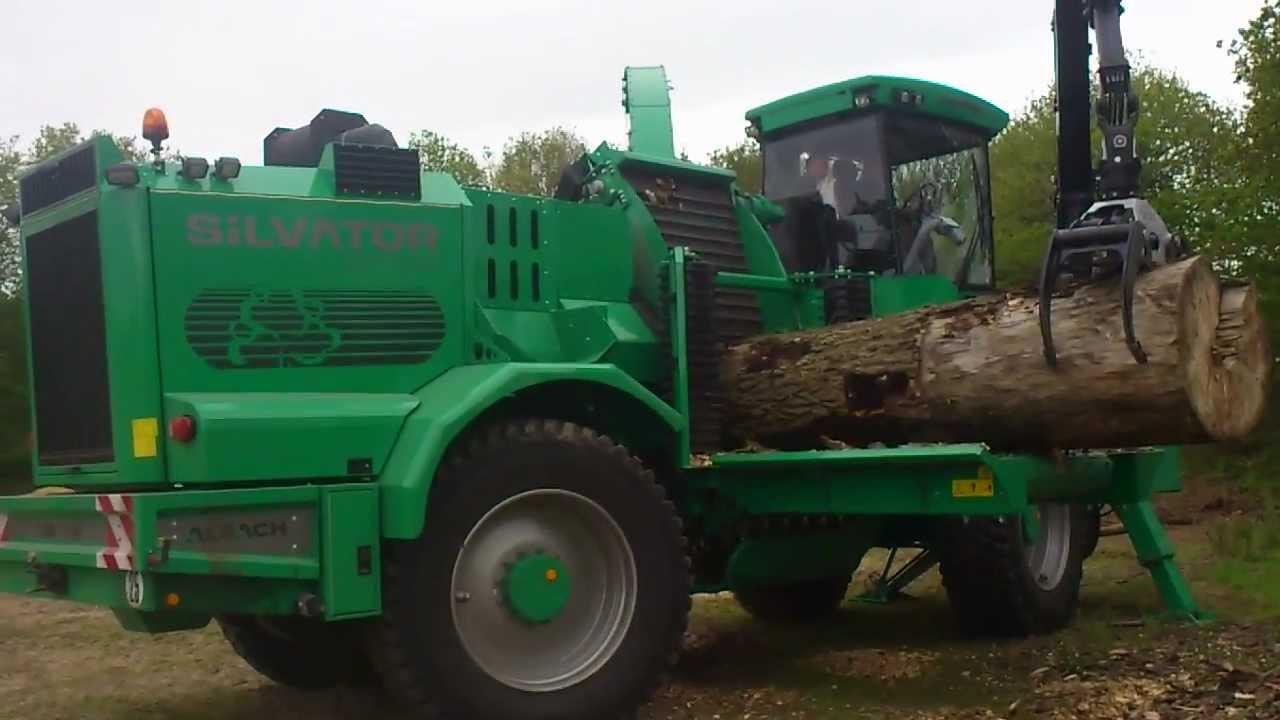 Silvator 2000 bois n rgie ouest youtube - 1 stere de bois ...