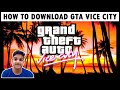 Gambar cover How to Download GTA Vice City