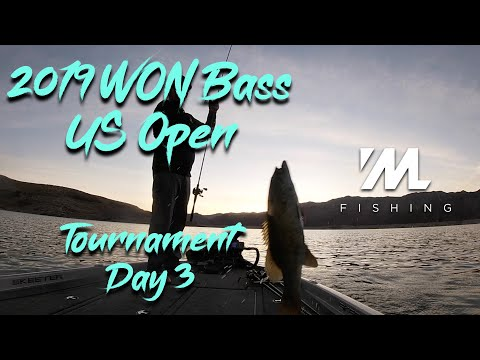 2019 WON Bass US Open - Tournament Day 3 - Bass Fishing Lake Mead Nevada