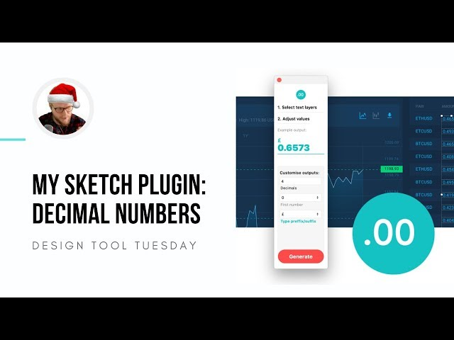 My Sketch Plugin: Decimal Number Generator - Design Tool Tuesday, Ep27