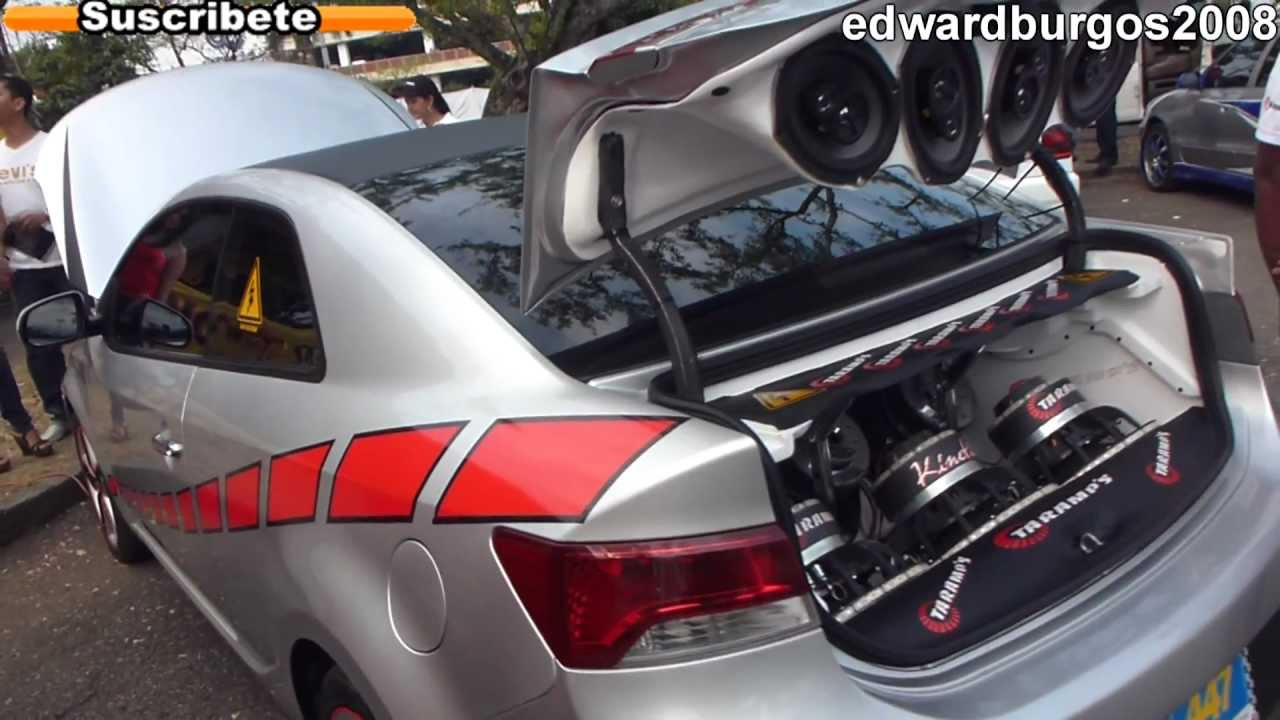 Kia Cerato Koup Tuning Modificado Taramps Car Audio Modelo
