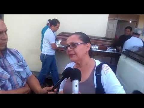 Fransisco Arauz Pineda's Family ask for Peace at his Funeral-- NICARAGUA --June 17th, 2018