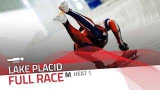 Lake Placid | BMW IBSF World Cup 2019/2020 - Men's Skeleton Heat 1 | IBSF Official