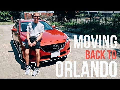 MOVING BACK TO ORLANDO!