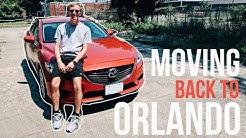 MOVING BACK TO ORLANDO!