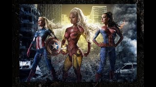 Fantastic Female Version Of Marvel's Avengers And Super villains || 2019
