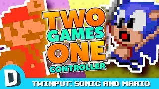 We Try to Beat Sonic and Mario With One Controller