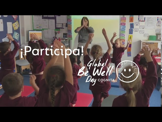 Cognita Chile se prepara para el Global Be Well Day 2020